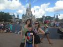A sunny day spent in Disney's Magic Kindom.