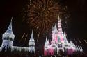 Wishes Firework Display at Disney's Magic Kingdom.