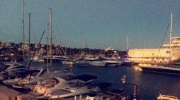 Porto Cristo Marina at night (Photo credit: Talie Colbourne)